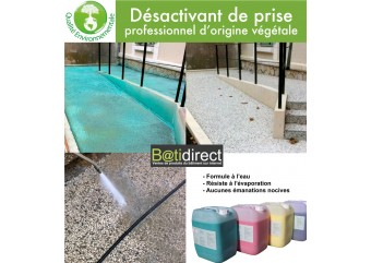 Desactivant de prise pour béton d'origine vegetale - BATILAV